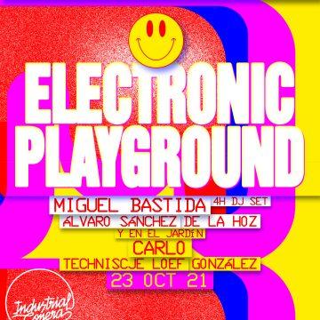 Electronic Playground – Octubre 2021