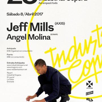 25 Aniversario Industrial Copera. Jeff Mills