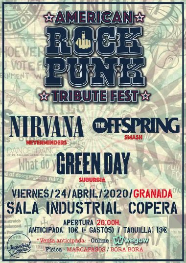 American Rock Punk. Festival de tributos