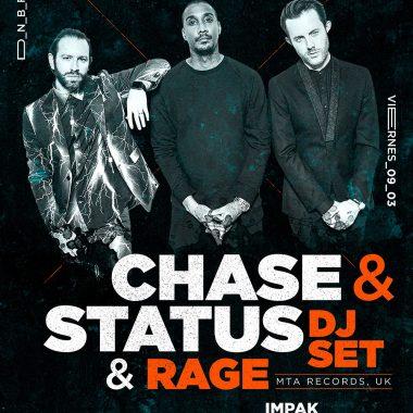 CHASE & STATUS DjSet & Rage
