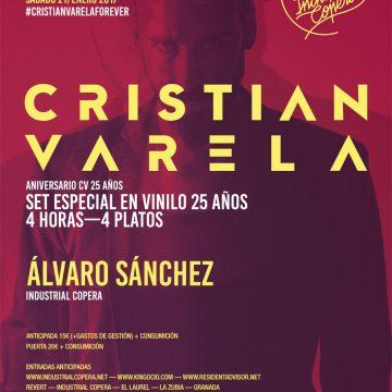 Cristian Varela 25 Aniversario