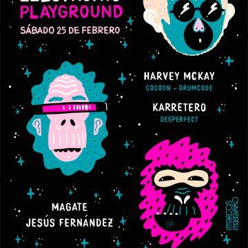 Electronic Playground – Harvey Mckay, Karretero, Magate, Jesús Fernández