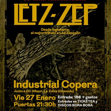 Letz Zep – El mejor tributo a Led Zeppelin